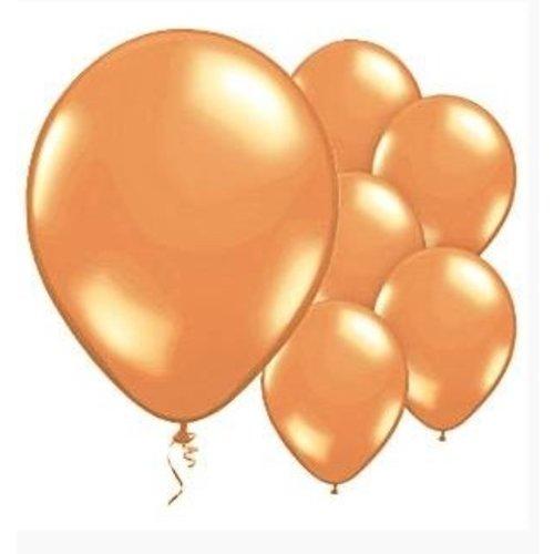 Ballonnen Oranje metallic