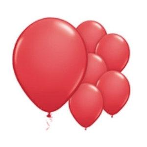 Ballonnen rood XL set