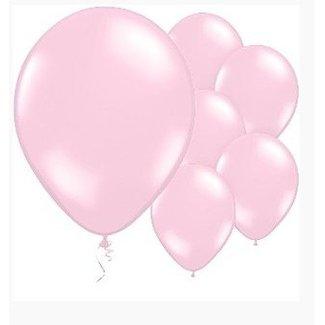 Pastel roze ballonnen