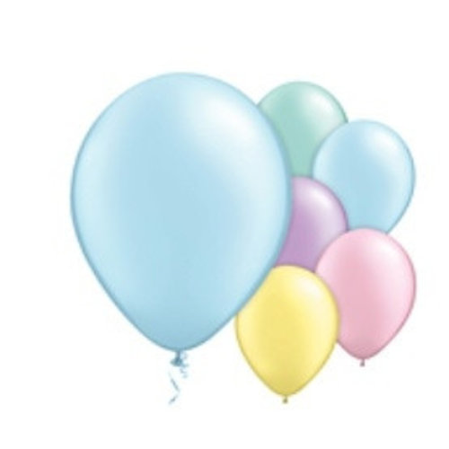 Pastel ballonnen XL Set