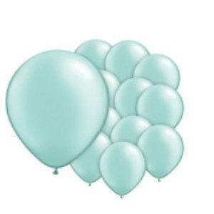 mint groen ballonnen XL set