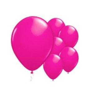Hard roze ballonnen XL set