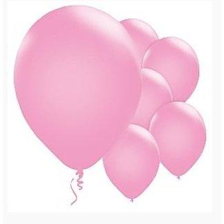 Mat licht roze ballonnen