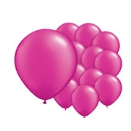 Fuchsia ballonnen mini