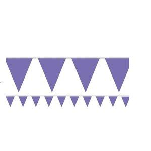 Paarse vlaggetjes