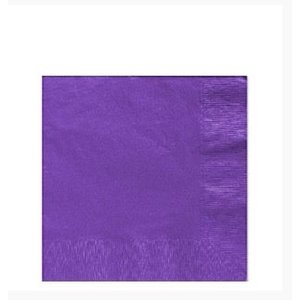 Servetten paars
