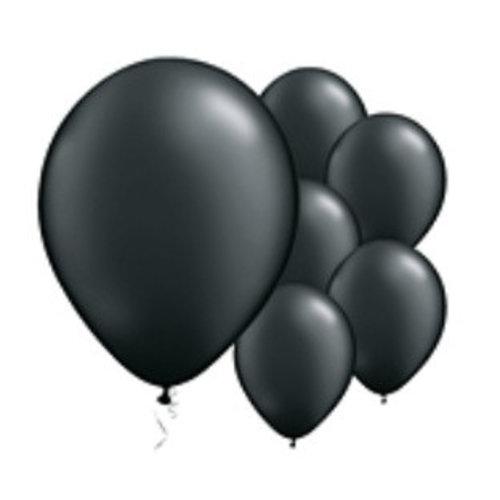 Zwart mat ballonnen