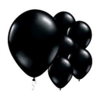 Zwart Shine ballonnen