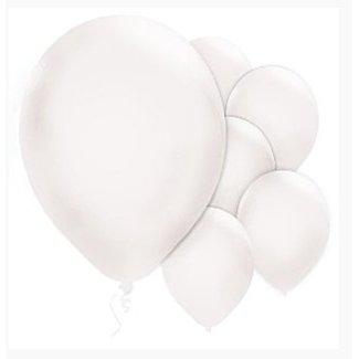Ballonnen pearl wit