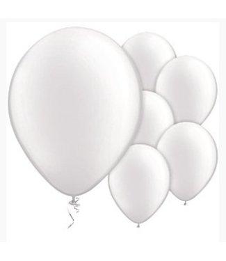 Amscan  Witte ballonnen pearl