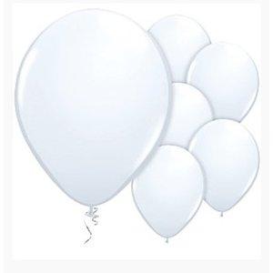 Witte ballonnen M
