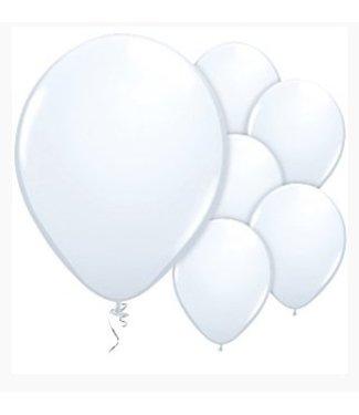 Amscan  Witte ballonnen M