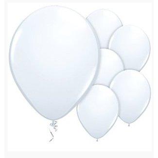 Ballonnen wit
