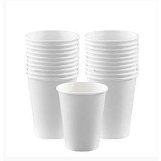 Koffie bekers wit