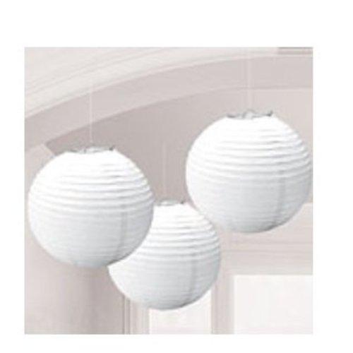 Lampionnen wit