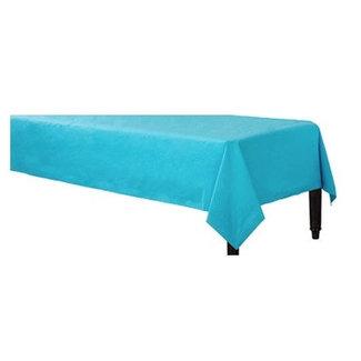 Turquoise tafelkleed papier