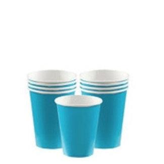 Turquoise koffie bekers