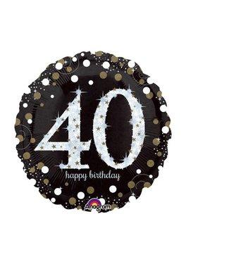 40 jaar folie ballon goud