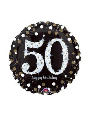Amscan  50 jaar folie ballon goud