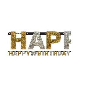50 jaar happy birthday letter slinger