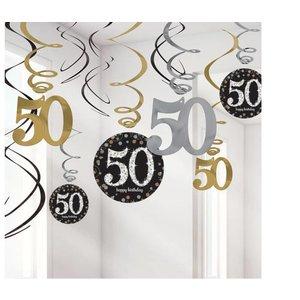 50 jaar Swirl slingers goud