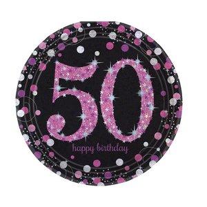 50 jaar borden