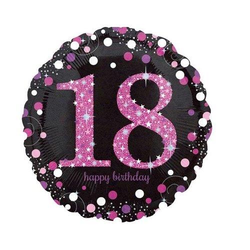18 jaar folie ballon