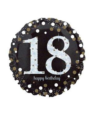 18 jaar folie ballon goud
