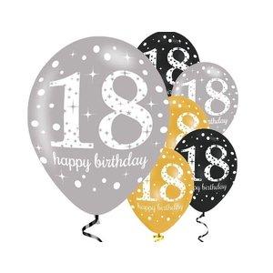 18 jaar ballonnen