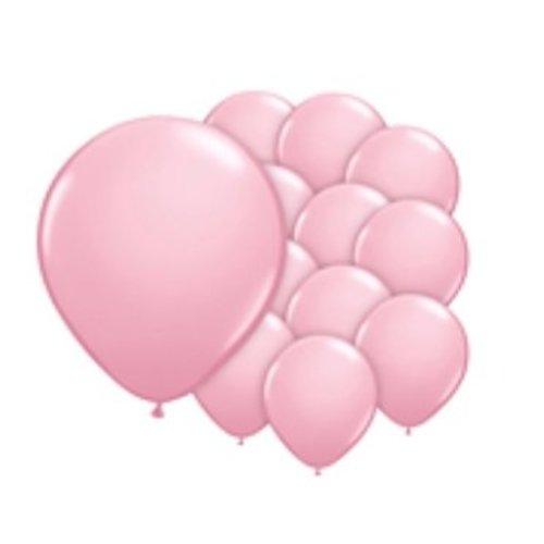Ballonnen pastel roze