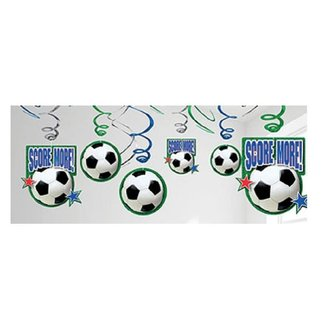 Voetbal slingers XL