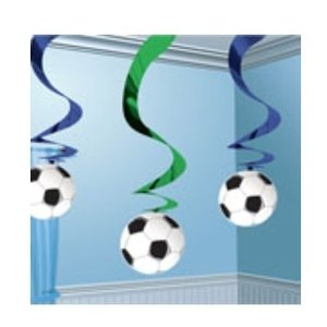 Voetbal hangslingers