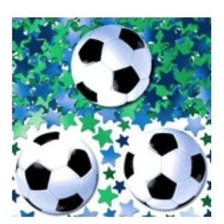 Voetbal confetti