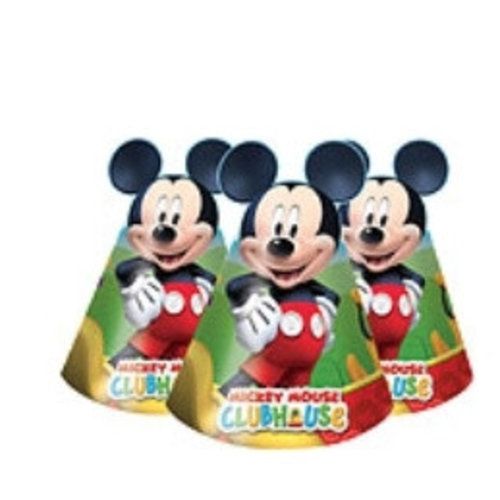Mickey mouse clubhouse feesthoedjes
