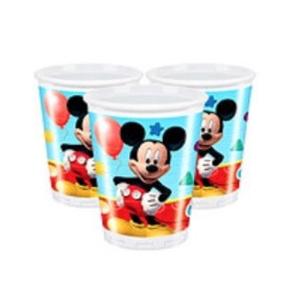 Mickey mouse clubhouse bekers