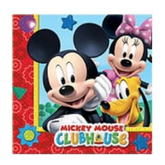 Mickey mouse clubhouse servetten