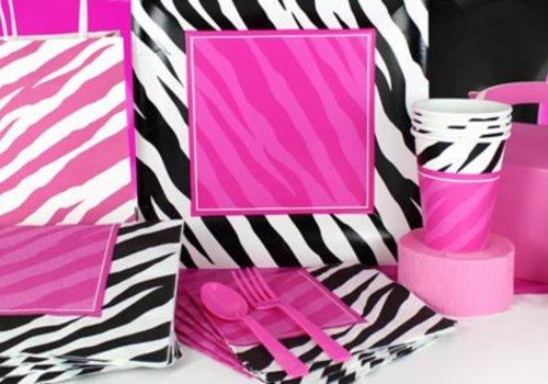 Zebra feestartikelen