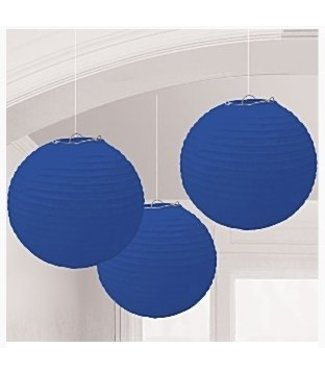 Amscan  Lampionnen royal blauw