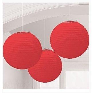 Lampionnen rood