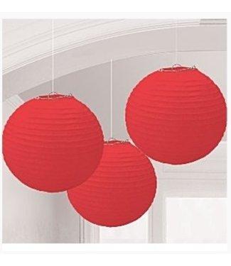 Amscan  Lampionnen rood