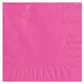 Roze servetten XL set