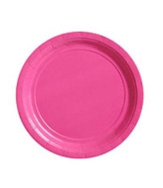 Roze bordjes