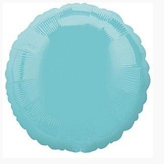 Turquoise folie ballon rond