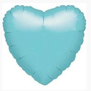 Turquoise hart ballon