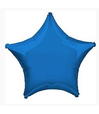Amscan  Royal blauw ster ballon