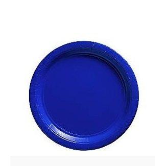 Gebaksbordjes blauw