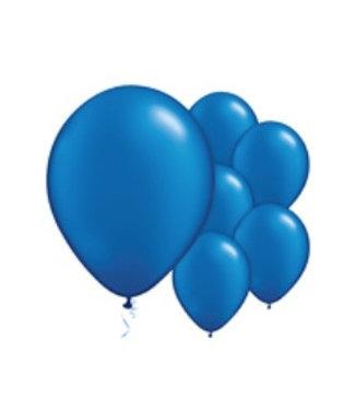 Amscan  Ballonnen blauw glans L