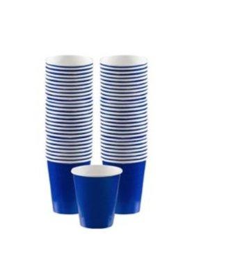 Amscan  Blauwe koffie bekers