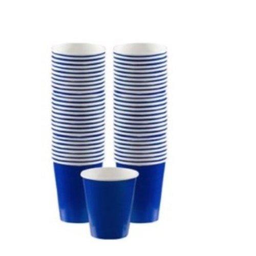 Blauwe koffie bekers