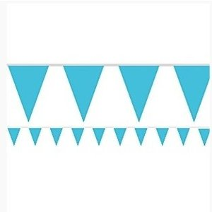 Turquoise vlaggetjes